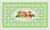 China de fábrica barato todo en un diseño independiente LFGB transparente Mantel Impreso 90 * 145cm