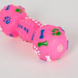 Dumbbell Shape perro de juguete de vinilo juguete chillón