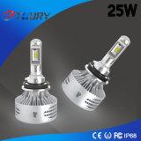 필립 25W를 위한 LED 변환 장비 H9 6000lm 기관자전차 헤드라이트