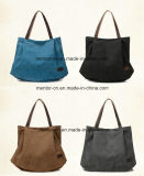 Nuova borsa delle donne della spalla del Tote della tela di canapa di modo di arrivo di disegno alla moda