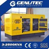 Diesel 125kVA van Weifang Ricardo 100kw van het Type van Denyo Stille Generator