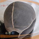 Court-circuit pleine perruque de cheveux vierges poly personnalisée (PPG-L-01866)