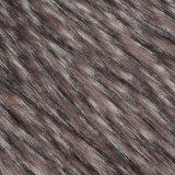 tessuto lungo della pelliccia del mucchio lavorato a maglia alta pelliccia del Faux della pelliccia di falsificazione della pelliccia del mucchio del jacquard per POM/Coat