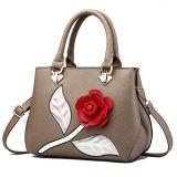 2017 شعبيّة تصميم نساء حقيبة يد [روس] زهرة نمو [ستشل] حقائب مع شريط طويل [س8406]