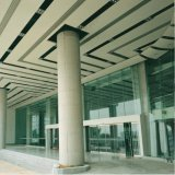 Panel decorativo Material de construcción Material metálico Panel de pared de cortina de aluminio