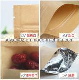 Du papier laminé Stand up sac ziplock