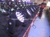19*12W RGBW 4in1 Mehrfarbenc$biene-auge K10 bewegliches Hauptbewegliches Hauptlicht des Summen-LED des träger-LED