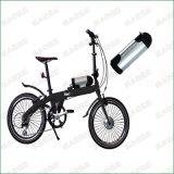 소형 휠체어 36V 48V 11.6ah 물병 유형 E 자전거 리튬 이온 건전지