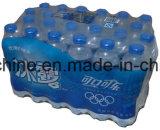 Machine d'emballage en papier rétrécissable de bouteille en verre