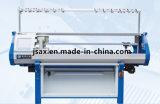 単一キャリッジ単一システム(AX-132SM)が付いているセーターのためのコンピュータ化された平たい箱の編む機械使用