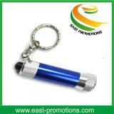 Regalo caliente de la promoción de la venta que destella Keychain Aluminumled