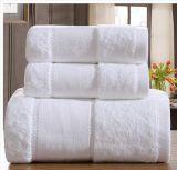 Toalla de baño de mano, proveedor China, toalla de baño de algodón blanco al por mayor