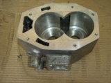 Кожух коробки передач CNC алюминия подвергая механической обработке автозапчастей с ISO 16949