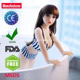 100cm lebensechtes reales Silikon-Minigeschlechts-Puppe mit grossen Brust-orales Geschlechts-Spielwaren für Mann