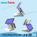 15 «поистине плоских сопротивляющих пунктов монитора экрана касания Sales/POS с USB/RS232