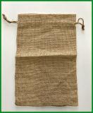 Umweltfreundlicher haltbarer Jutefaserdrawstring-Beutel für Reis