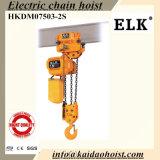 7.5ton het elektrische Hijstoestel van de Ketting met Elektrisch Karretje voor LuchtKraan