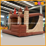 Schöner Spielplatz, der das aufblasbare Schloss kombiniert für Kinder (AQ738-2, springt)