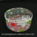 Boîte cadeau en plastique personnalisée imprimée en plastique