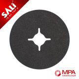 Disco de pulido de la fibra de madera y del metal del disco de la fibra del carburo de silicio