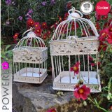 Sostenedor de vela decorativo Wedding del Birdcage del metal