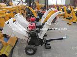 Motor de alta calidad ATV cortadora trituradora de madera / cortadora trituradora With15HP