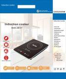 cocina ultra fina de cristal Titanium de la inducción del certificado del tacto 1800W ETL del sensor 120V