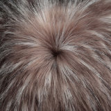 ジャカード高い山の毛皮の偽造品の毛皮ののどのPOM/Coatのための毛皮によって編まれる長い山の毛皮ファブリック