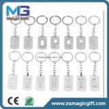 Изготовленный на заказ оптовая продажа Keychain металла, цепь популярного металла английского алфавита ключевая