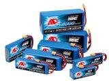 De Batterij van het Polymeer Lithium van het van de consument van de Elektronika 5000mAh 3.7V 1c