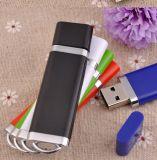 Mecanismos impulsores promocionales coloridos estándar del flash del USB de la muestra libre con insignia