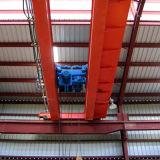 Grúa de arriba de la viga doble eléctrica 10 toneladas con el alzamiento