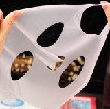 La hembra facial de seda natural de la hoja de la máscara del 100% enmascara la máscara del Facial de Vera del áloe del silicón