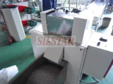 Plastikfilm bereiten Maschine für die Herstellung der Plastiktasche auf