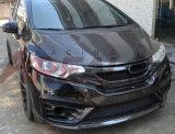 Máscara de nevoeiro de fibra de carbono para a Honda Jazz aplicar 2014