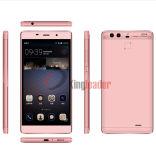 """5.5 """" 세륨과 이중 사진기 (P9 4G)를 가진 인치 4G Fingerpint 쿼드 코어 인조 인간 6.0 Smartphone"""