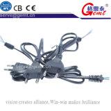 Ноутбук 2 разъем кабеля адаптера переменного тока шнура питания зарядного устройства