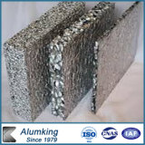 금 또는 은에 의하여 솔질되는 PE PVDF 코팅 알루미늄 거품