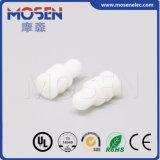 Cauchos de silicón autos blancos del conector 963531-1