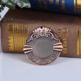 カスタム設計する旧式な銅めっきのメダルをブランクにしなさい