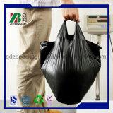 Le PEHD de sacs poubelle en plastique biodégradable de sacs à ordures