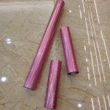 Impression par transfert rose feuille laser de marquage à chaud de la soie