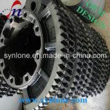 Processo de usinagem CNC Manganês Steel Gear