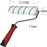 Acrylgewebe-Lack-Rollen-Pinsel für Wand-Farbanstrich mit TPR Griff