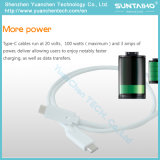 Быстрый поручая тип кабель Sync данных USB3.1 c для таблетки/мобильных телефонов