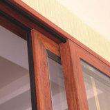 オーストラリアの標準の上昇のドアを滑らせる二重ガラスをはめられたアルミニウム