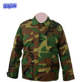 Reative Ptinted Forest Camouflage Military Uniforms Training Suit