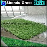 Relvado artificial verde da cor 20mm para o jardim e a paisagem