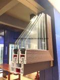 주문을 받아서 만들어진 다양성 색깔 PVC 미끄러지는 Windows 및 문