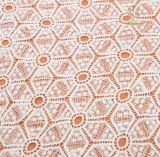 Cordones de Nigeria para la tela del cordón de la materia textil de la alineada de partido